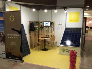 Stand da Boa Energia na Concreta 2015
